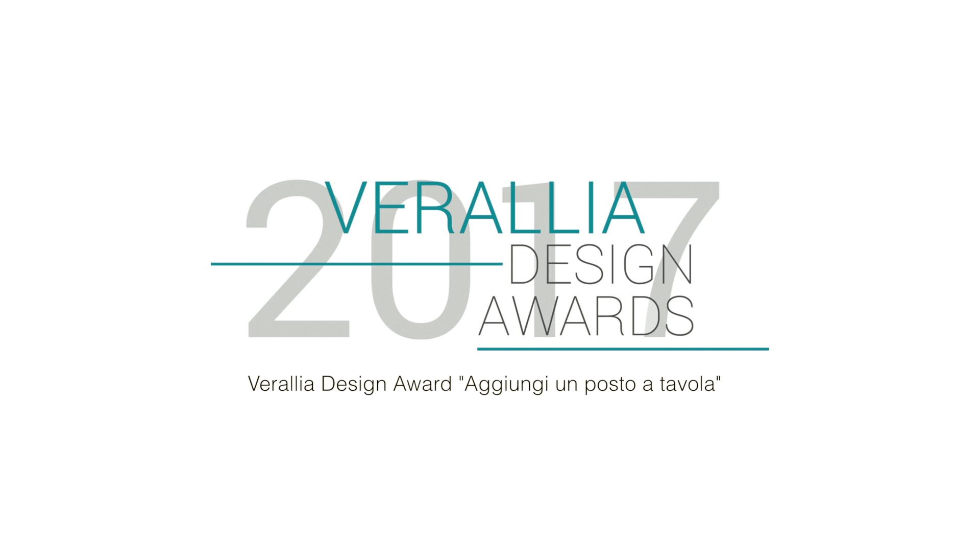 Verallia Italia Design Awards 2017
